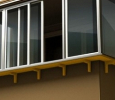 Выносное остекление балкона
