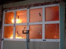 Алюминиевые противопожарные окна